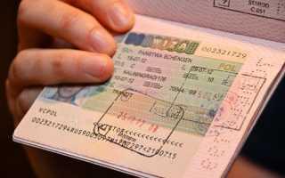 Анкета на польскую визу образец заполнения