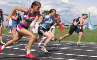 Протокол соревнований по легкой атлетике образец