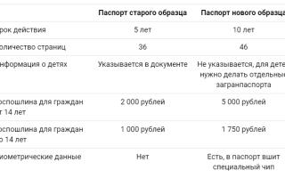Онлайн заявление на загранпаспорт нового образца